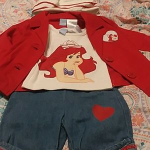 4 piece Disney outfit